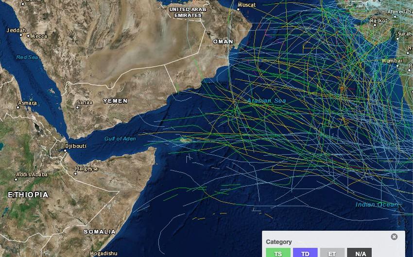 دراسة علمية حديثة تكشف عن احتمالات تشكل الأعاصير في بحر العرب