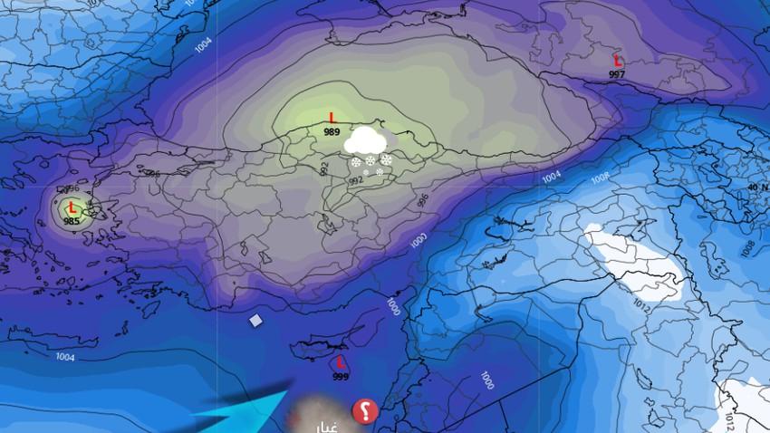 الجمعة إرتفاع على درجات الحرارة - وتقلبات جويّة حادة الأسبوع القادم