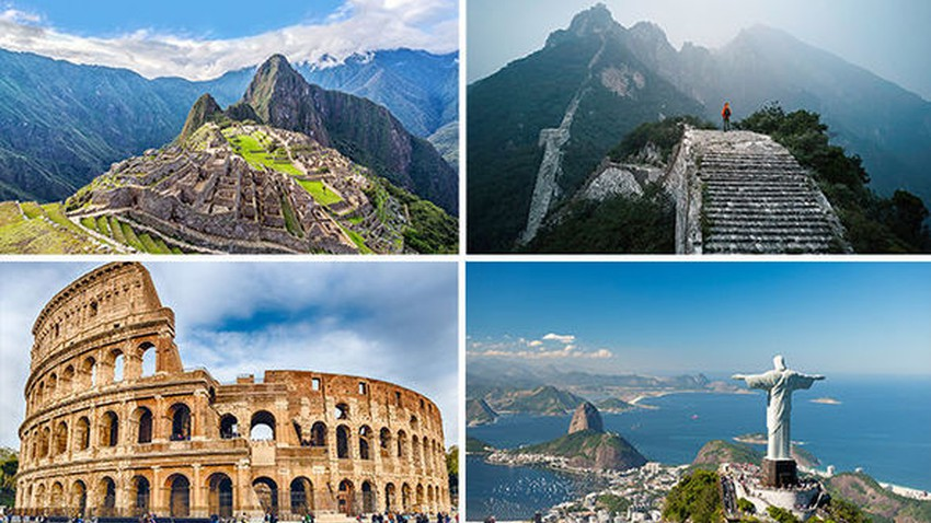 The New Seven Wonders of the World..one of them in an Arab country