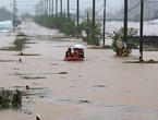 Due to floods ... two rescue workers died and 5 were missing in South Korea