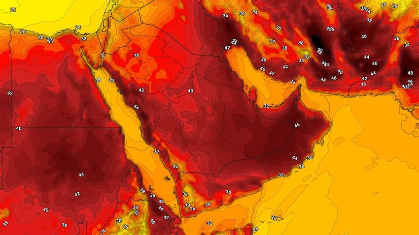 اليمن | طقس حار في العديد من المناطق الجمعة واستمرار فرص الأمطار الرعدية على المرتفعات الغربية