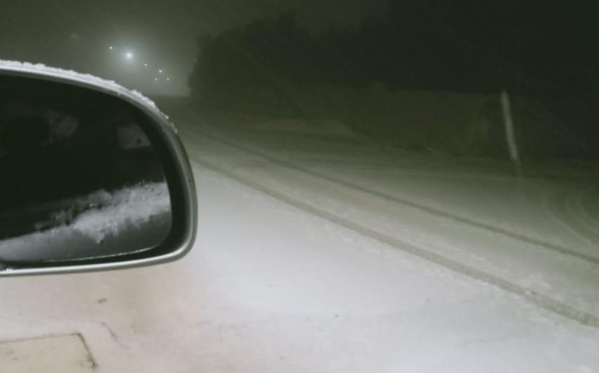 بالفيديو والصور   بالتزامن مع الاعتدال الربيعي ... الجنوب يشهد الثلجة السابعة هذا الشتاء