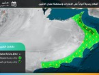الامارات | حالة من عدم استقرار جوي وزخات امطار الاثنين