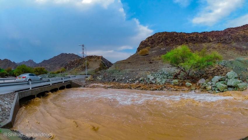 كميات الأمطار الهاطلة على عدد من ولايات السلطنة من27 مايو  - 1 يونيو 2020