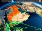 السعودية | بداية الحالة الماطرة مساء الأربعاء وتطال الرياض الجمعة