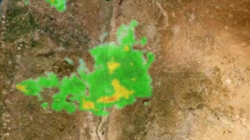 تحديث: توقع هطول أمطار في العاصمة عمّان بعد قليل