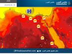 الثلاثاء | ارتفاع أخر على درجات الحرارة مع استمرار الطقس مستقر على مصر