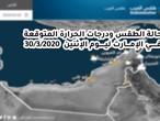 الإمارات| حالة الطقس ودرجات الحرارة المتوقعة ليوم الإثنين  30/3/2020