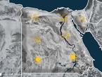 مصر| منخفض جوي خماسيني الثلاثاء و طقس مغبر في العديد من المناطق