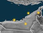 الامارات | ارتفاع على الحرارة خلال عطلة نهاية الاسبوع
