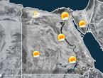 مصر   منخفض جوي خماسيني السبت و فرصة لأمطار شمال غرب البلاد