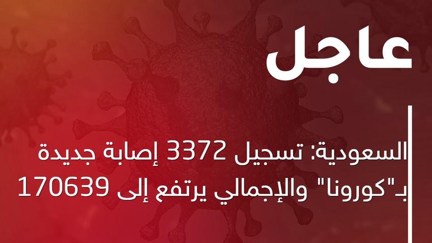 """""""الصحة"""" تعلن تسجيل 3372 إصابة جديدة بـ""""كورونا"""" .. والإجمالي يرتفع إلى 170639"""
