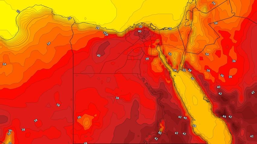 alerte précoce | Une hausse notable et continue des températures, et le maximum approche les quarante degrés Celsius en République d'Égypte dans les prochains jours