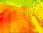 Egypt   The country began to be affected by the Khamasini depression on Tuesday