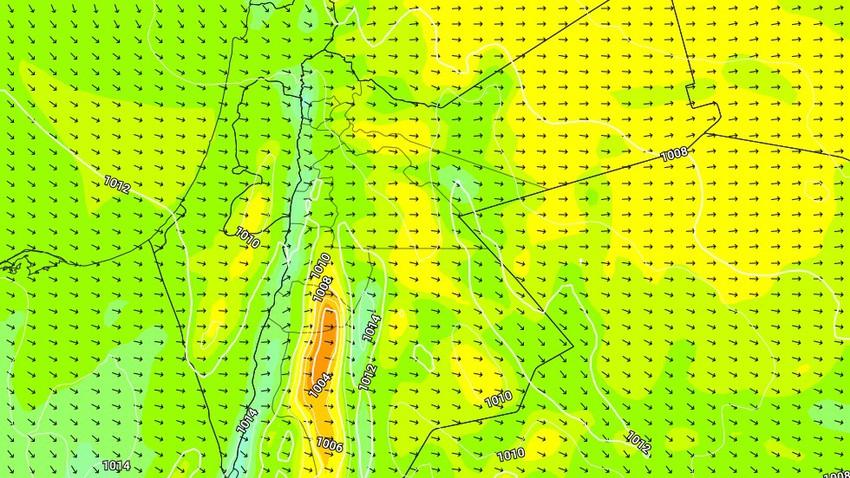 تنبيه مُبكر | موجات غُبارية وعواصف رملية قوية على جنوب وشرق المملكة الخميس و الجمعة