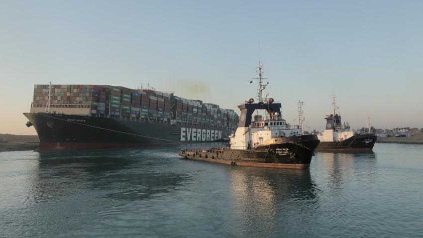 هيئة قناة السويس: استئناف الملاحة في القناة عند ال 8 مساء بالتوقيت المحلي
