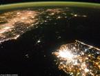 صور من الفضاء : شاهد الفرق الهائل بين عتمة كوريا الشمالية و إضاءة كوريا الجنوبية