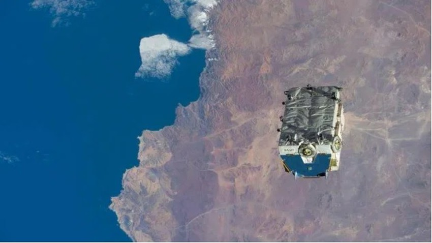 The space station disposes of 2.9 tons of waste in space ... What is its fate!