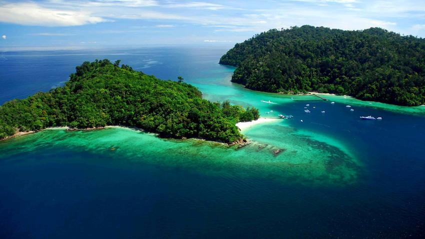 5 جزر ماليزية رائعة في حديقة تنكو عبد الرحمن البحرية