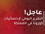 الصحة الأردنية : 790 إصابة جديدة بفايروس كورونا و 8 حالات وفاة