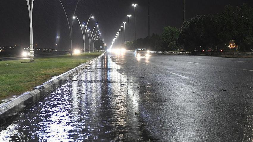 السعودية | تزايد فرص الأمطار الرعدية على تبوك والجوف فجر الخميس