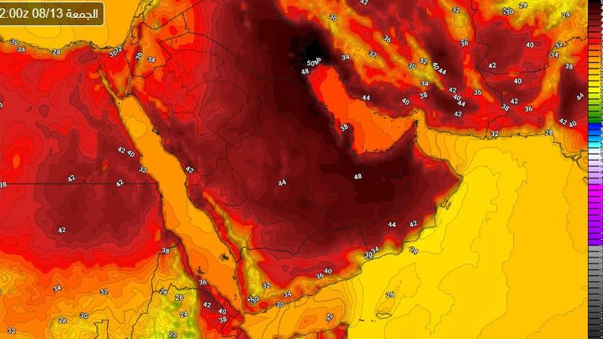 الرياض   ارتفاع اضافي على درجات الحرارة الجمعة السبت وتنبيه من الاجهاد الحراري وضربات الشمس