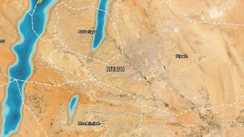 تحديث 12:15م | سُحب ماطرة تقترب من الرياض والأمطار واردة الساعات القادمة