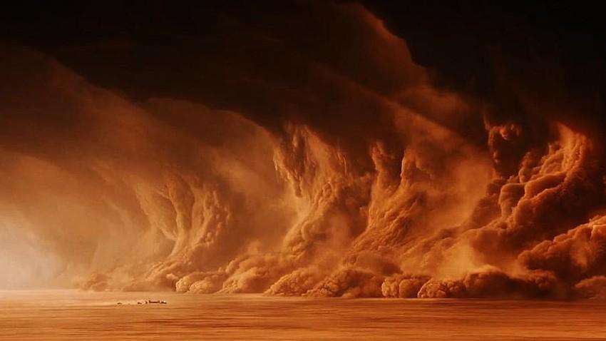 """الرياض في مرمى العاصفة الرملية """"حمراء"""" .. فهل ستصل اليها بنفس القوة والكثافة؟"""