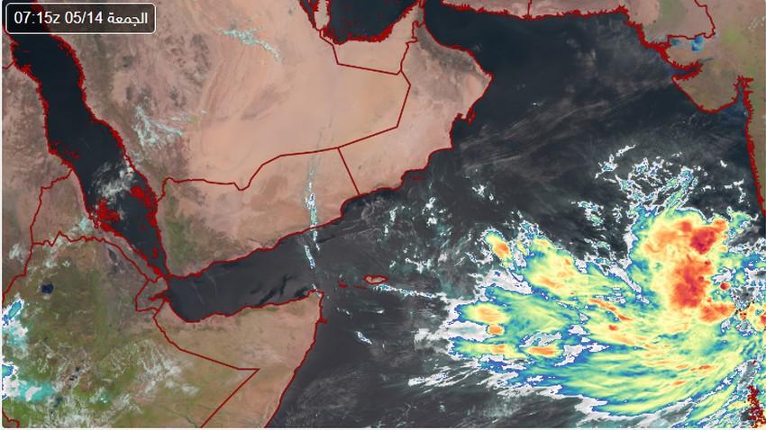 رسمياً | تشكل أول منخفض مداري لهذا الموسم في بحر  العرب والأرصاد العُمانية تصدر التقرير رقم 1 حوله