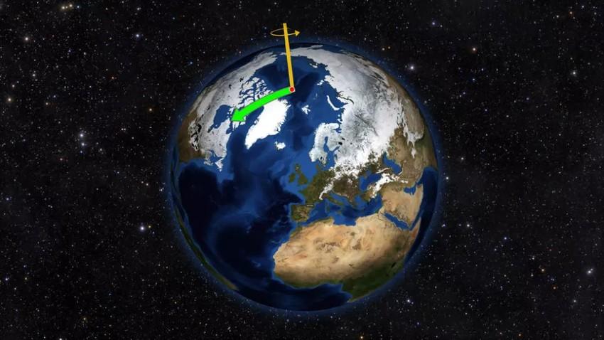 دراسة تكشف | تغير المناخ يتسبب بانحراف محور دوران الأرض