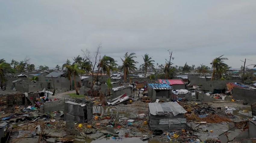 الإعصار إيداي يتسبب بوفاة أكثر من  200 شخص في موزمبيق
