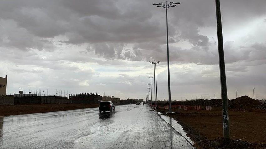 السعودية | كتلة هوائية باردة وفرصة للأمطار على تبوك والجوف ليل الأربعاء ونهار الخميس