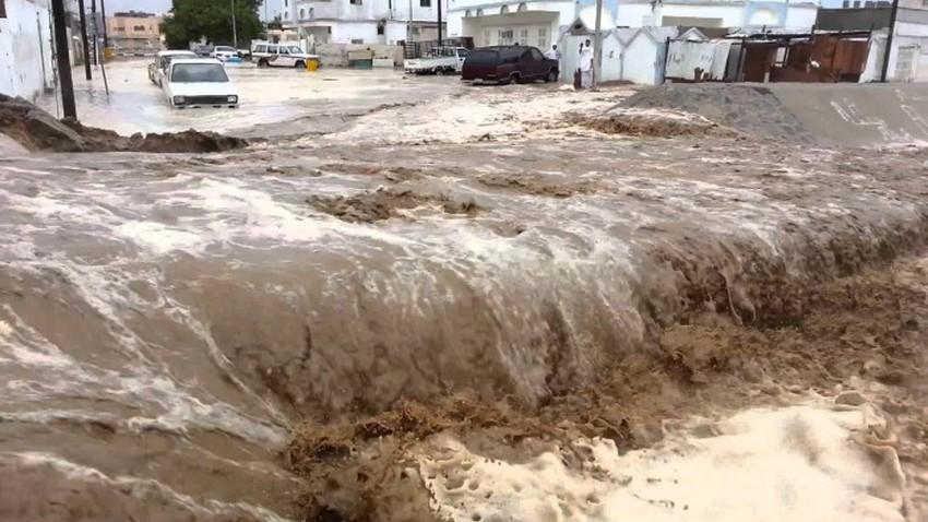 Saudi Arabia | Shocking figure.. 135 mm of rain fell on Jabal Sala in Jizan within a few hours!