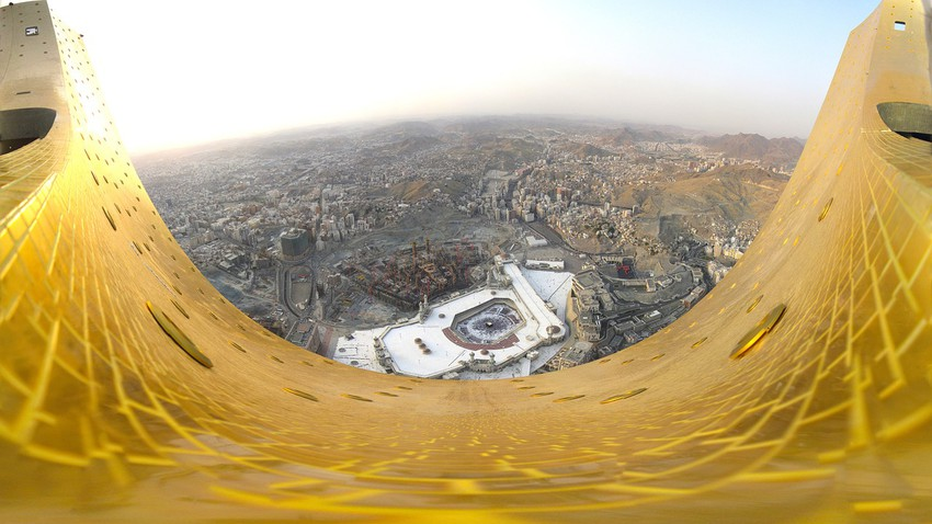 Mecca this week | Stable weather and forecast forty temperatures