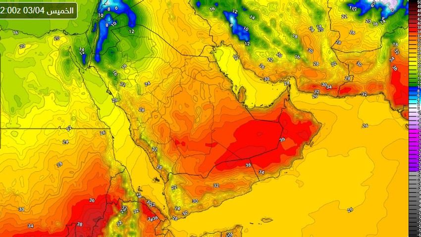 Riyadh | Large temperature fluctuations during the current week, and a cold and flu alert