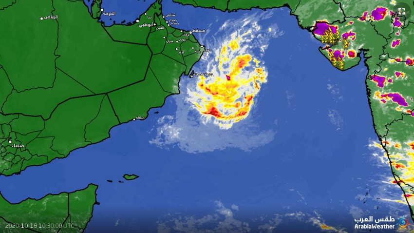 Update | The latest developments in the tropical depression in the Arabian Sea and expectations for the next 48 hours