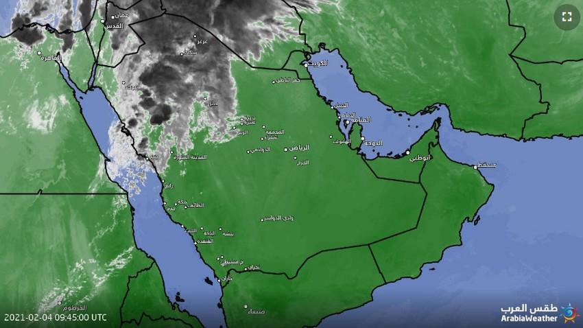 تحديث 1:20م   استمرار تأثير الحالة الماطرة عطاء وتحذيرات خاصة لهذه المناطق خلال الساعات القادمة