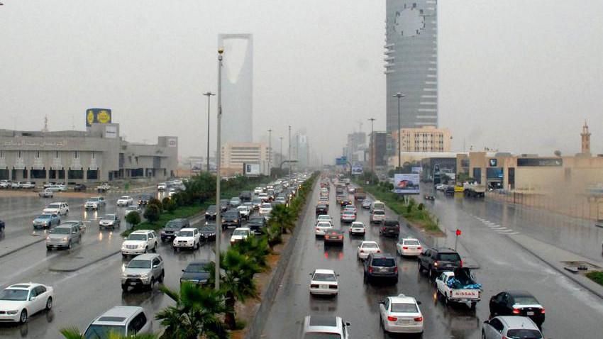 السعودية | تعرف على موعد عودة الأمطار إلى الرياض و تفاصيلها