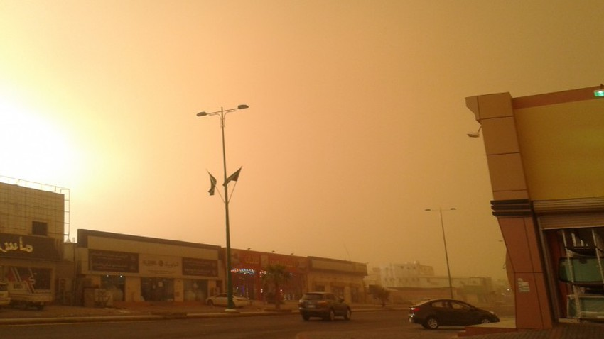 Saudi Arabia | The dust season is intensifying, and dust is expected from Laith to Jizan in the second half of this week