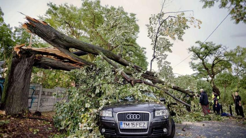وفيات وجرحى جراء عاصفة في رومانيا
