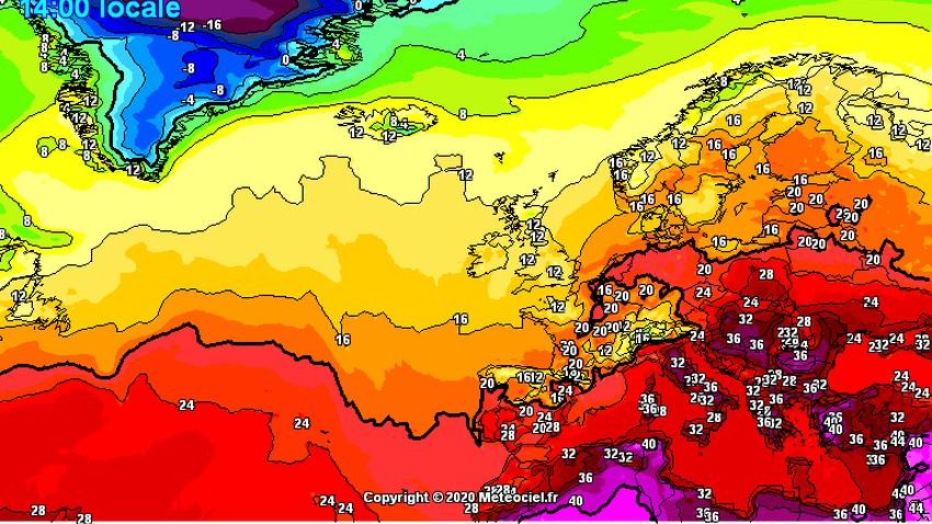 موجة حر متوسطة الشدة تشق طريقها إلى البلاد