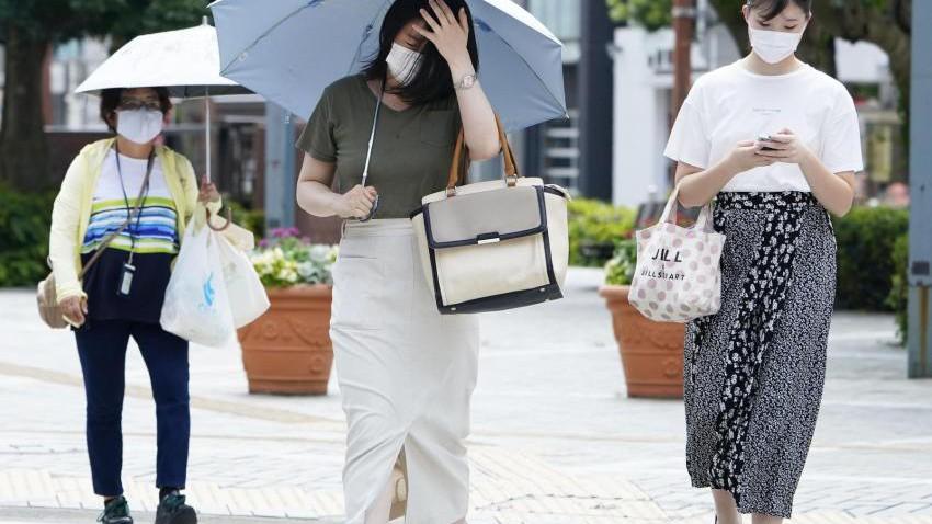 اليابان   53 وفاة بسبب ارتفاع درجات الحرارة منذ بداية شهر أغسطس/ آب