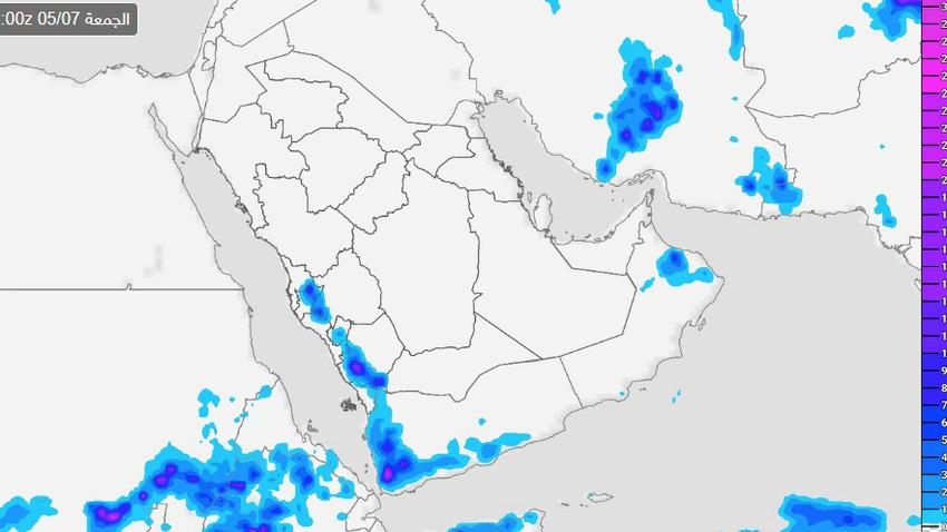 السعودية | النشاط الرعدي يتجدد اليوم وتوقعات الأمطار تشمل مكة والطائف