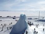 Videos | The amazing glacier volcano in Kazakhstan