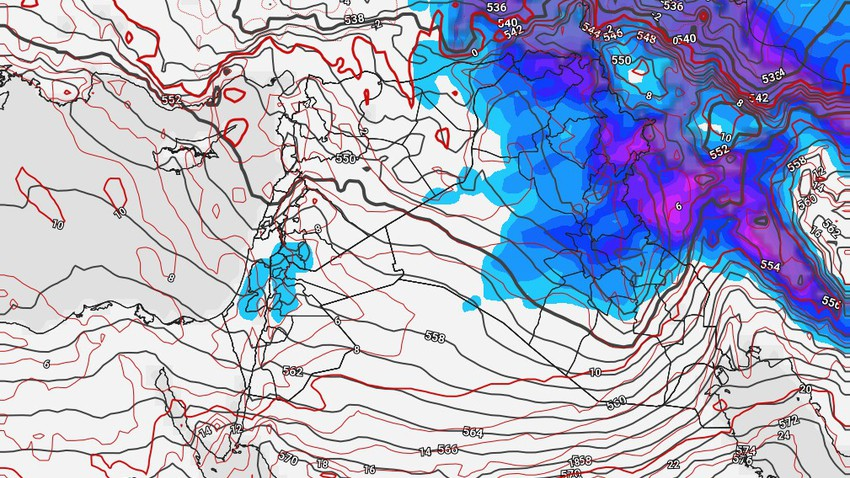 Iraq | Sharp fluctuations in the air, strong winds and thunderstorms expected