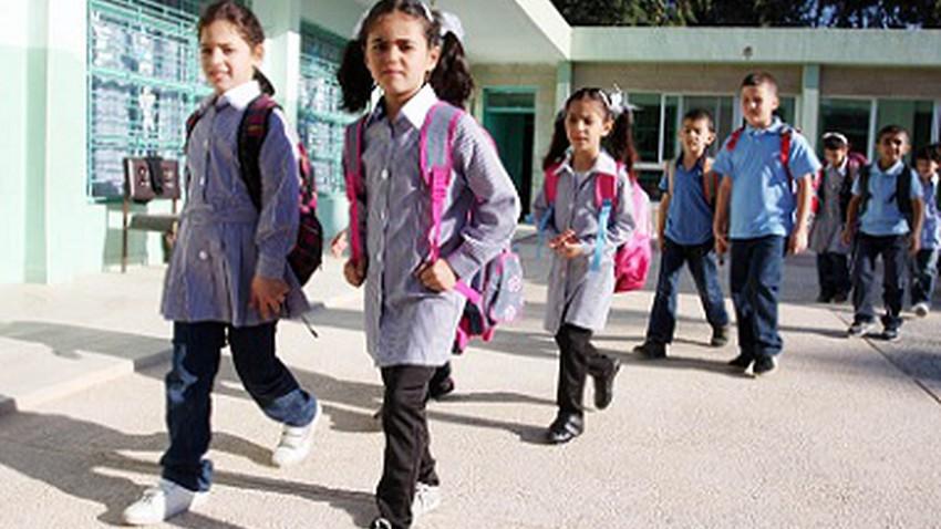 صباح الأحد : تأخير الدوام في المدارس والجامعات والمؤسسات العامة في فلسطين بسبب موجة البرد