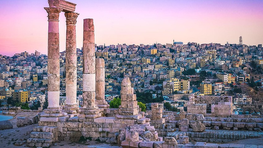 Why was Amman called in the past `Philadelphia`?