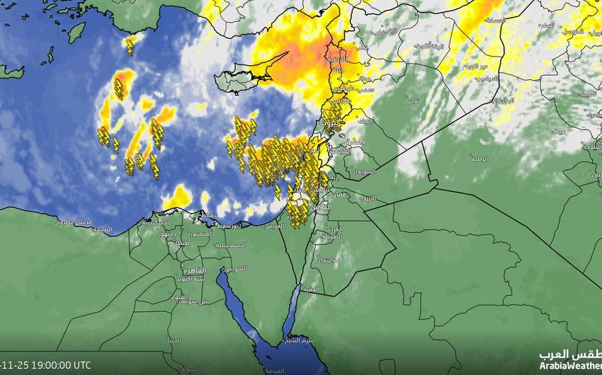 الأردن | تنبيه من تشكل السيول المفاجئة ومن شدة الامطار الرعدية