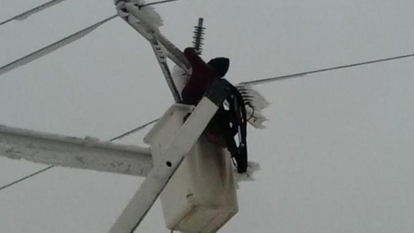 توزيع الكهرباء تؤكد جاهزية كوادرها للتعامل مع المنخفض الجوي