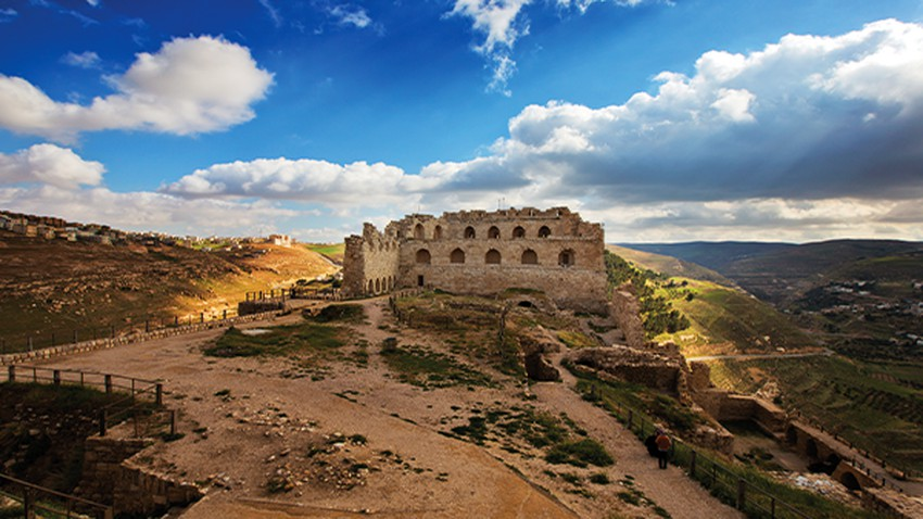 Learn about the city of Karak, the land of wondrous valleys and a fortified castle